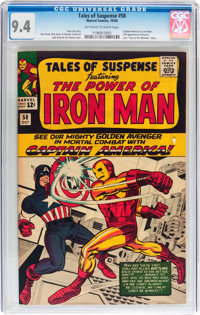 Tales of Suspense #58 (Marvel, 1964) CGC NM 9.4 Off-white to white pages