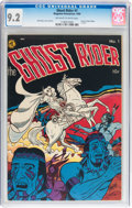 Golden Age (1938-1955):Western, Ghost Rider #1 (Magazine Enterprises, 1950) CGC NM- 9.2 Off-whiteto white pages....