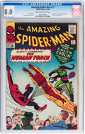 Silver Age (1956-1969):Superhero, The Amazing Spider-Man #17 (Marvel, 1964) CGC VF 8.0 Cream to off-white pages....