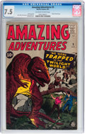 Silver Age (1956-1969):Horror, Amazing Adventures #3 (Marvel, 1961) CGC VF- 7.5 Off-white to whitepages....
