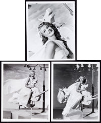 "Rita Hayworth in Down to Earth by Ned Scott (Columbia, 1947). Portrait Photos (3) (8"" X 10""). ... (Total: 3 It..."