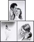"Movie Posters:Musical, Rita Hayworth and Larry Parks in Down to Earth by Ned Scott(Columbia, 1947). Portrait Photos (3) (8"" X 10"").. ... (Total: 3Items)"