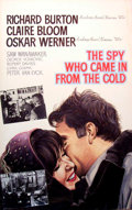 Mainstream Illustration, JOHN J. LOMASNEY (Irish, 1899-1989). The Spy Who Came in Fromthe Cold, 1965. Gouache on art board. 44 x 28 in..Ben...