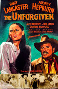 Mainstream Illustration, JOHN J. LOMASNEY (Irish, 1899-1989). The Unforgiven, 1960.Gouache on art board. 44 x 28 in.. Benefiting Lifebeat...