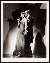 """Rita Hayworth and Fred Astaire in You Were Never Lovelier by George Hurrell (Columbia, 1942). Photos (2) (8"""" X 10&q..."""