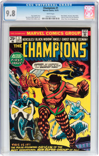 The Champions #1 (Marvel, 1975) CGC NM/MT 9.8 White pages