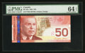 Canadian Currency: , BC-65a-i $50 2004. ...