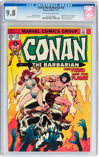 Conan the Barbarian #44 (Marvel, 1974) CGC NM/MT 9.8 Off-white to white pages