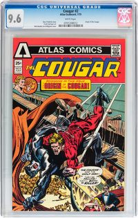Cougar #2 (Atlas-Seaboard, 1975) CGC NM+ 9.6 White pages