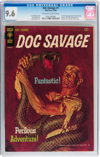 Doc Savage #1 (Gold Key, 1966) CGC NM+ 9.6 Off-white to white pages