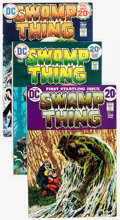 Bronze Age (1970-1979):Horror, Swamp Thing #1 and 10-24 Group (DC, 1972-76) Condition: AverageVF.... (Total: 18 Comic Books)