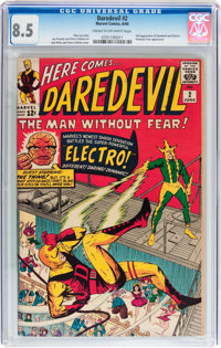 Daredevil #2 (Marvel, 1964) CGC VF+ 8.5 Cream to off-white pages