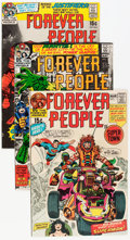 Bronze Age (1970-1979):Superhero, The Forever People #1-6 Group (DC, 1971-72) Condition: Average VF+.... (Total: 25 Comic Books)