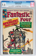 Silver Age (1956-1969):Superhero, Fantastic Four #26 (Marvel, 1964) CGC VF- 7.5 Cream to off-white pages....