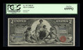 Large Size:Silver Certificates, Fr. 247 $2 1896 Silver Certificate PCGS Gem New 65PPQ....