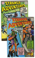 Silver Age (1956-1969):Science Fiction, Strange Adventures #195 and 197 Group (DC, 1966-67) Condition: Average VF.... (Total: 2 Comic Books)