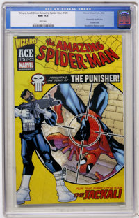Wizard Ace Edition Amazing Spiderman 129 (Marvel/Wizard Pub., 2002) CGC NM+ 9.6 White pages