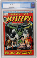 Bronze Age (1970-1979):Horror, Journey Into Mystery (2nd Series) #1 (Marvel, 1972) CGC VF+ 8.5Off-white to white pages....