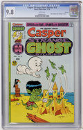 Bronze Age (1970-1979):Cartoon Character, Casper Strange Ghost Stories #13 File Copy (Harvey, 1976) CGC NM/MT9.8 White pages....