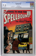 Silver Age (1956-1969):Horror, Spellbound #31 (Atlas, 1956) CGC VF- 7.5 White pages....
