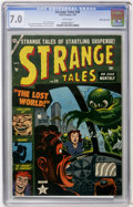 Golden Age (1938-1955):Horror, Strange Tales #20 White Mountain pedigree (Marvel, 1953) CGC FN/VF7.0 White pages....