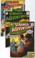 Silver Age (1956-1969):Science Fiction, Strange Adventures Group (DC, 1959-64) Condition: Average VG-.... (Total: 11 Comic Books)