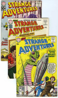 Silver Age (1956-1969):Science Fiction, Strange Adventures Group (DC, 1960-62) Condition: Average FN.... (Total: 5 Comic Books)