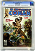 Magazines:Adventure, Savage Sword of Conan #55 (Marvel, 1980) CGC NM/MT 9.8 Off-white to white pages....