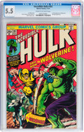 Bronze Age (1970-1979):Superhero, The Incredible Hulk #181 (Marvel, 1974) CGC FN- 5.5 Cream to off-white pages....