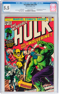 The Incredible Hulk #181 (Marvel, 1974) CGC FN- 5.5 Cream to off-white pages