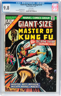 Giant-Size Master of Kung Fu #2 (Marvel, 1974) CGC NM/MT 9.8 White pages