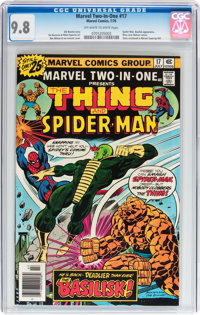 Marvel Two-In-One #17 (Marvel, 1976) CGC NM/MT 9.8 Off-white to white pages