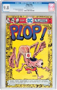 Plop! #15 (DC, 1975) CGC NM/MT 9.8 Off-white to white pages