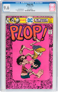 Plop! #16 (DC, 1975) CGC NM+ 9.6 White pages