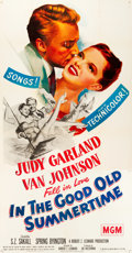 "Movie Posters:Musical, In the Good Old Summertime (MGM, 1949). Three Sheet (41"" X 80""). From the collection of GLG.. ..."