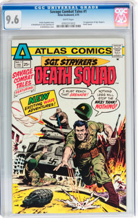 Savage Combat Tales #1 (Atlas-Seaboard, 1975) CGC NM+ 9.6 White pages