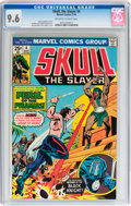 Bronze Age (1970-1979):Adventure, Skull, the Slayer #4 (Marvel, 1976) CGC NM+ 9.6 Off-white to white pages....