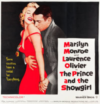 "The Prince and the Showgirl (Warner Brothers, 1957). Six Sheet (81"" X 81"")"