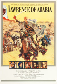 "Lawrence of Arabia (Columbia, 1962). Roadshow Poster (40"" X 60"")"
