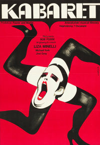 "Cabaret (Allied Artists, 1973). Polish One Sheet (23"" X 33"")"