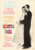 "Movie Posters:Romance, Funny Face (CWF, 1962). Polish One Sheet (23"" X 32.5"").. ..."