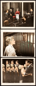 """Movie Posters:Film Noir, The Lady from Shanghai (Columbia, 1947). Color-Glos Photos (3) (8"""" X 10"""").. ... (Total: 3 Items)"""
