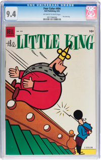 Four Color #494 The Little King (Dell, 1953) CGC NM 9.4 Off-white to white pages