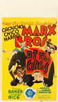 """Movie Posters:Comedy, At the Circus (MGM, 1939). Midget Window Card (8"""" X 14"""").. ..."""