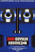 "Movie Posters:Science Fiction, 2001: A Space Odyssey (MGM, 1973). Polish One Sheet (22.5"" X 33)....."
