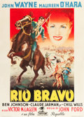 "Movie Posters:Western, Rio Grande (Republic, 1951). Italian 2 - Foglio (39"" X 55"").. ..."