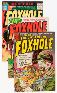 Foxhole Group (Charlton, 1954-56) Condition: Average VG.... (Total: 5 Comic Books)