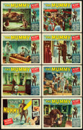 """Movie Posters:Horror, The Mummy (Universal International, 1959). Lobby Card Set of 8 (11""""X 14"""").. ... (Total: 8 Items)"""