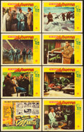 "Movie Posters:Science Fiction, The Deadly Mantis (Universal International, 1957). Lobby Card Set of 8 (11"" X 14""). Science Fiction.. ... (Total: 8 Items)"