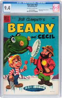 Four Color #635 Beany and Cecil - File Copy (Dell, 1955) CGC NM 9.4 Off-white to white pages
